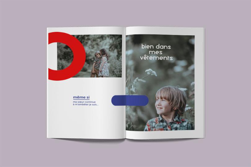 catalogue créatif collection marque bambino giustina