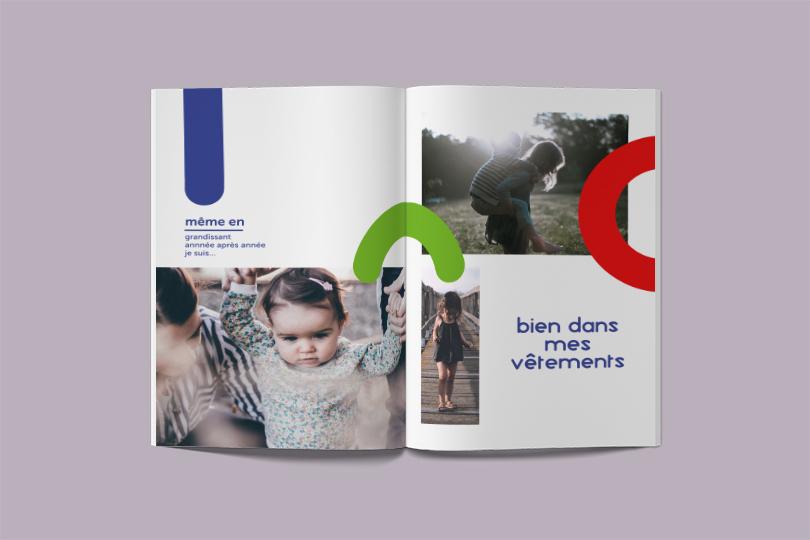catalogue création collection bambino vêtement giustina