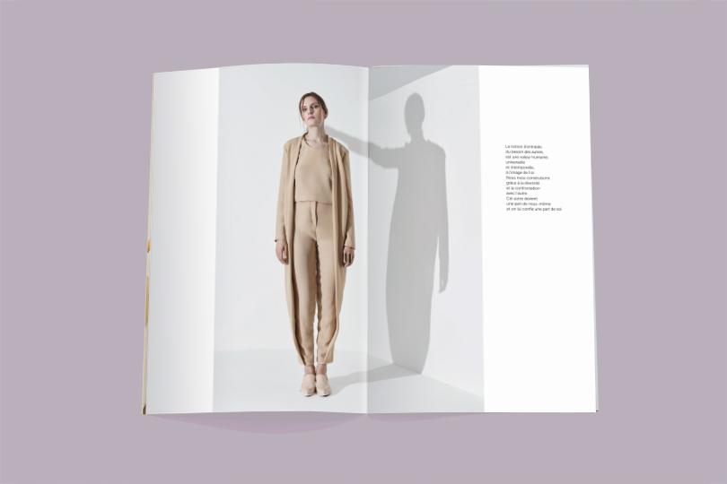 catalogue création collection justine chanal vêtement giustina