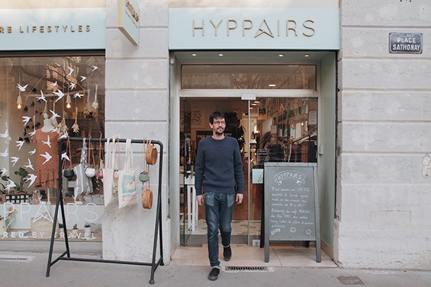 concept-store Lyon Hyppairs Aymeric