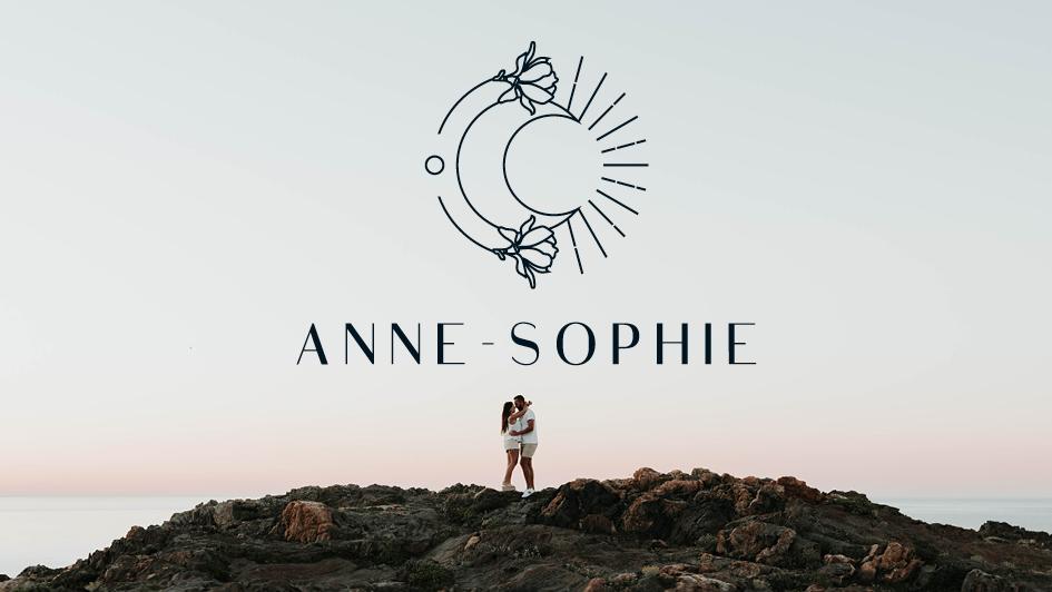 Anne-Sophie projet identité visuelle