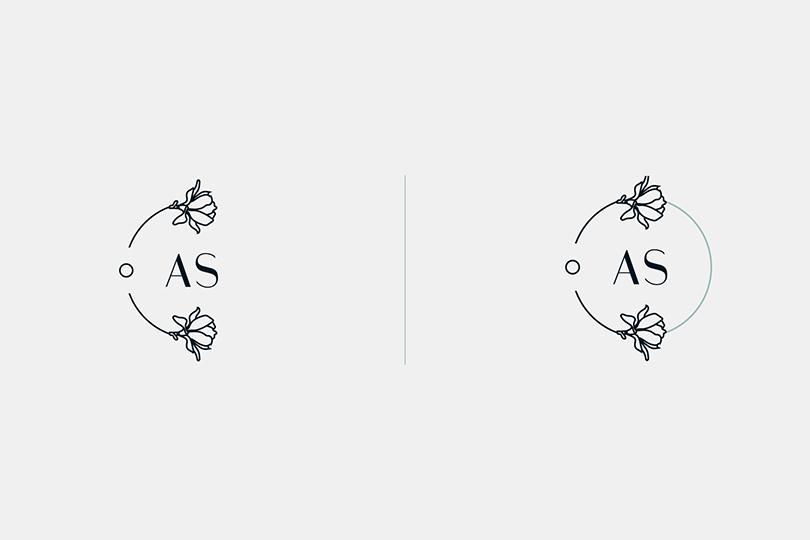 entrepreneur, logo, identité visuelle, Anne-Sophie
