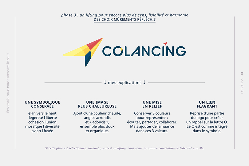 entreprise humaine, logo, valorisant, Colancing