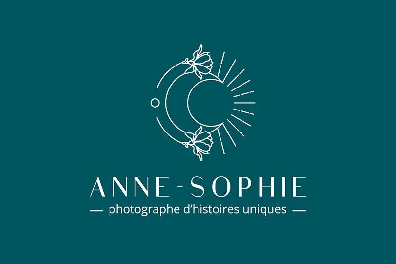 logo, Anne-Sophie, image de marque, valorisant