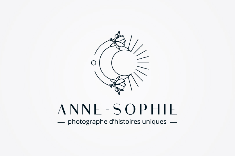 logo Anne-sophie photographe d'histoires uniques, Giustina