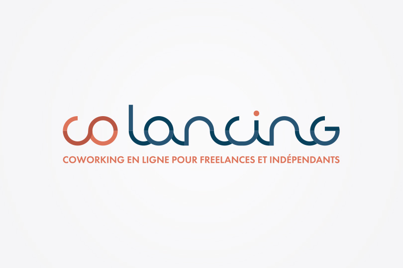 logo Colancing, coworking online, Giustina